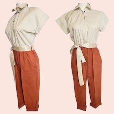 1930's - 40's Rompin' Romper Suit
