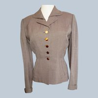 1930's Sophisticated, Structured Go-Anywhere Jacket