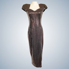 1940's-Style Chanteuse Gorgeous Gown