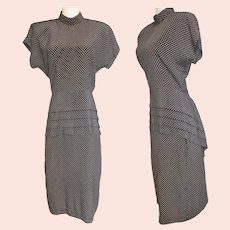 1940's-Style Sexy Siren Hollywood Dress