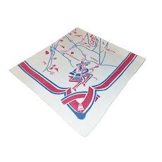 1940's Souvenir Tablecloth Map of LA, Californ-i-a