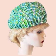 1950's-60's 'Pasadena Hats' Avant Garde Hat