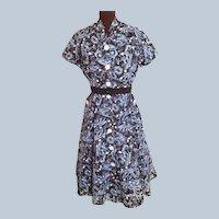 1950's DAY Dress...Simple yet Smashing!