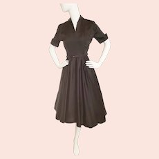 "1950's Fabulous, Flirty Shirtwaist ""Desk Set""  Dress"