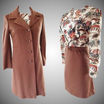 1960's Walking Suit, 2-piece Ensemble, Roy Bjorkman