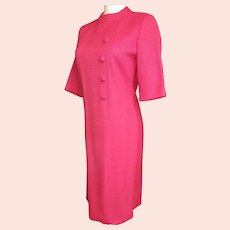 "1960's ""MAD MEN"" Pretty in Pink Chemise"