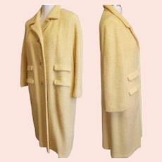 1960's 'In-Between' Butter-cup Coat