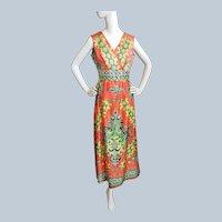 1970's Iconic BOHO Beauty, in Technicolor!!!!