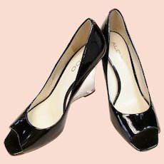 ALDO Acrylic Wedge Heels