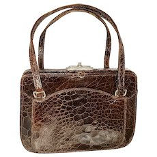 Alligator Petite Purse, Made in France for DAYTON'S
