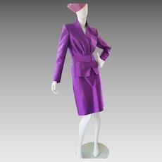 Anne Klein PLUM Shimmering Suit