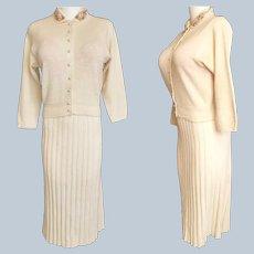 BEJEWELED 'Kimberly' 1940's Sweater Set