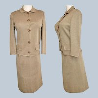 BELLA Silver-Threaded 1960's Italian Suit!