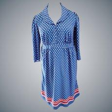Beautiful Blue Dress for CURVY Lady, Size 2X-3X