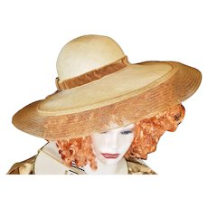 Bewitching, Beguiling, Peek-a-Boo Sun Hat