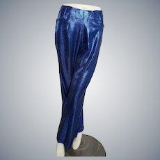 Blue Lamé Sparklin' Smarty Pants!!