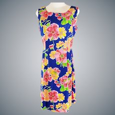 Bright, Flowery, Comfortable Summer Dress