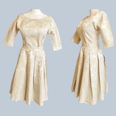 Brocade Beauty - Mid-Century 'Koret of California'  Cocktail Dress