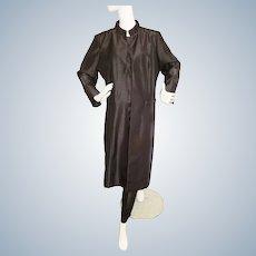 Chic Black 3-Piece Walking Suit