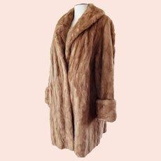 Classic 1950's - 60's FUR Coat