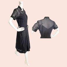 DRESSY Tea Dress of the 1940's - 50's