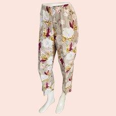 Dana Buchman Classy, Silk Capri pants