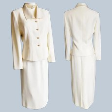 EXQUISITE Ivory Sophisticated Suit