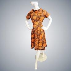 Fabulous Falling Leaves Lovely Dress
