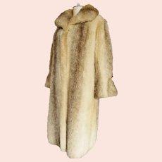 "Fabulous Faux Fur Fun ""Tissavel"" Long Coat"