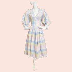 Foxy-Lady Rock-a-Billy/Prairie-style Dress, 1970's