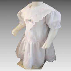 Sweet Eyelet Dress for a Sweet Little Girl