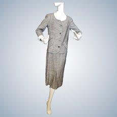 Irish Linen Ladies Suit - Mid Century