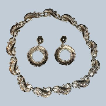 JOMAZ Mid-Century Necklace & Earrings Set