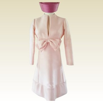 Jackie Oooooh 1960's Pink Dress