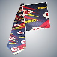 KC CHIEFS are HOT....So is this Vintage Tie!