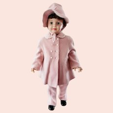 Kute Kiddies 1950's Little Girls Pink Snow Suit