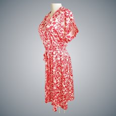 """Lovely Mid-Century, Colorful """"Day Dress"""""""