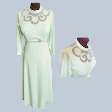 Luck O' the Irish Lass, Mint Green Gown