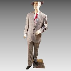VINTAGE WOOL SUIT for Today's Suave Gentleman!