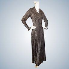 Mid-Century Glittering, Glinting, Glow in the Dark, Glorious Gown