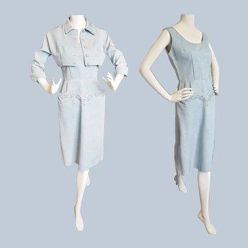 Mid-Century Pencil Dress & Bolero Jacket