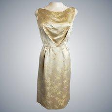 Midas Touch Gold Cocktail Dress