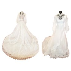 PRINCESS Wedding Gown - 1970's Style