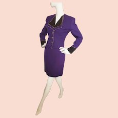 Passionate PURPLE 'Prince' Ultra Sophisticated Suit