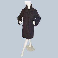 Persian Curly Lamb Coat - 1930's - 40's