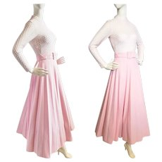 Pink 'n Pleated 'n Perfect 1960's Gown