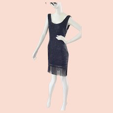 Flappers Have More FUN in this Fabulous Beaded Dress!