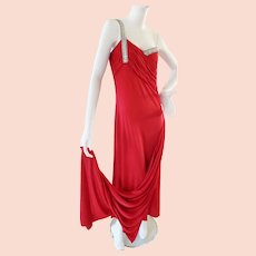 RAVISHING RED Sultry Evening Dress