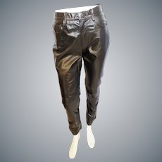 Ready to RUMBLE Black Leather Pants!