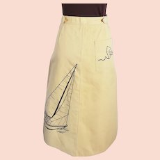 Rig the Regatta, Sailing Skirt!